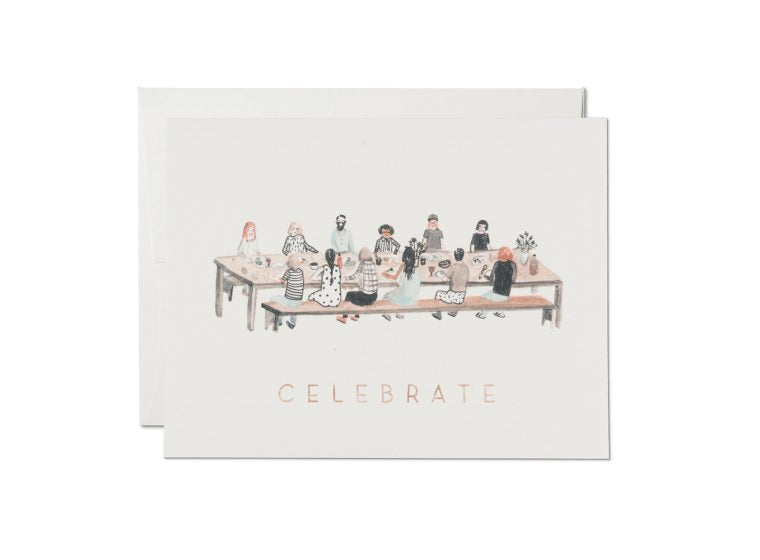 At the Table Celebrate Card