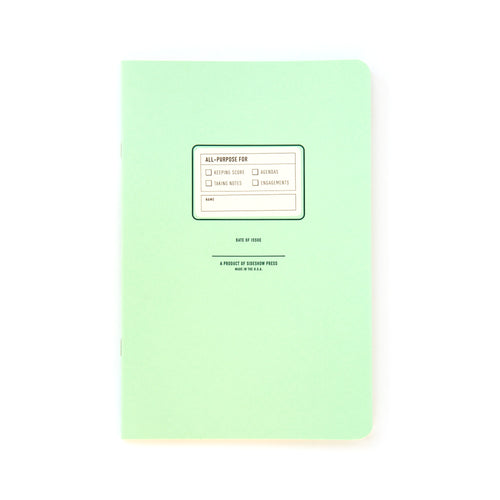 All-Purpose Journal in Mint