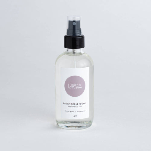 Hydrating Oil : Lavender & Wood