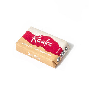 Raaka Chocolate Mini Bar - 58% Oat Milk