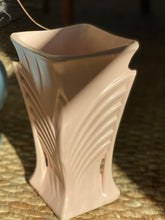 Load image into Gallery viewer, Vintage Pink Art Deco Vase