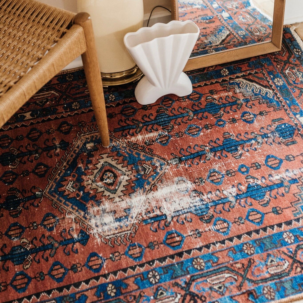 Styling with vintage rugs