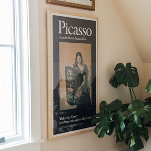 Picasso Vintage French Art Exhibition Poster from The Walker 1980