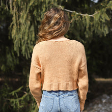 Load image into Gallery viewer, Paloma Wool Tratame Light Sweater in Peach