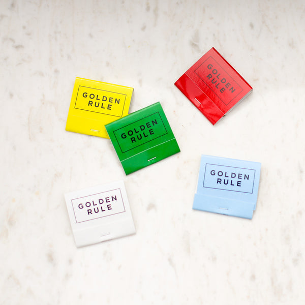 Golden Rule Branded Matchbooks | Branded Matches | Golden Rule Gallery | Excelsior, MN