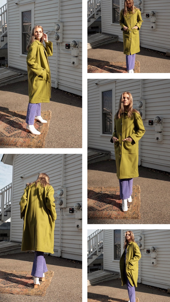 Paloma Wool Lagone Coat Collage
