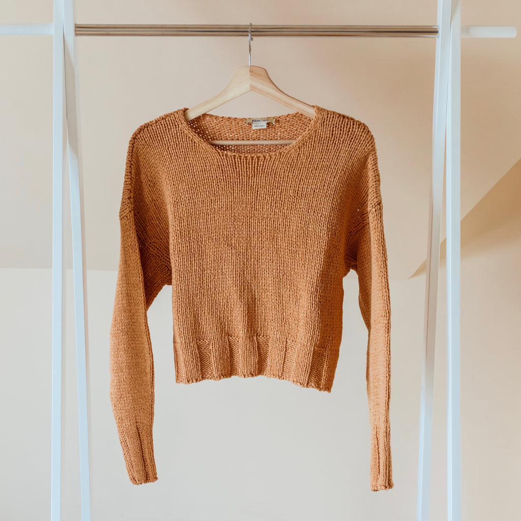 Paloma Wool Tratame Light Sweater in Peach