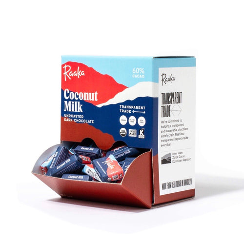 Raaka Chocolate Mini Bar - 60% Coconut Milk