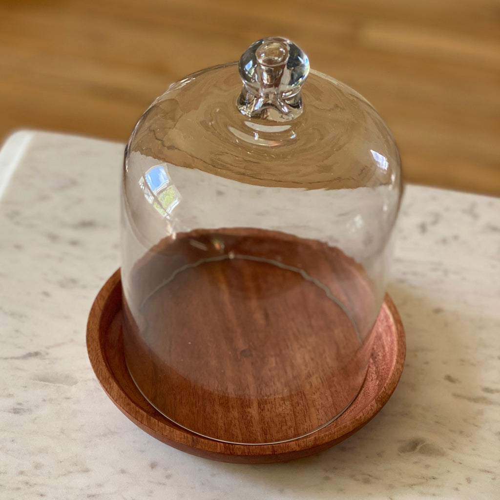 Cloche Candle Display | Candle Cover | Large Glass Candle Cover | Rewined | Golden Rule Gallery | Excelsior, MN