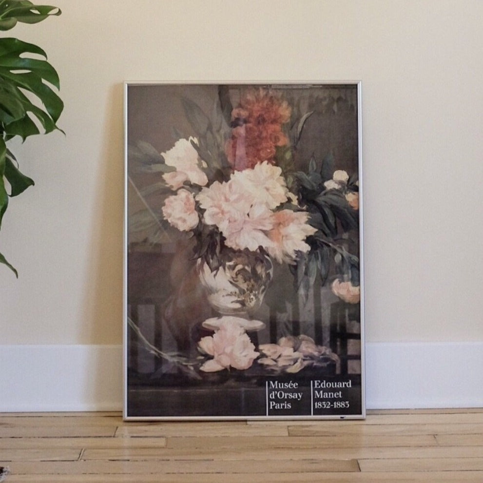 Vintage Manet Art Exhibition | French Floral | Art Collector | Golden Rule Gallery