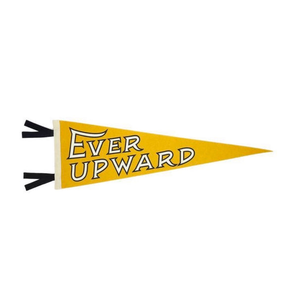 Ever Upward Pennant | Oxford Pennant | Flag Pennant | Golden Rule Gallery | Excelsior, MN