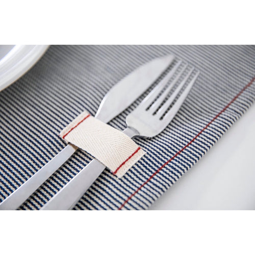 Railroad Stripe Placemats Set