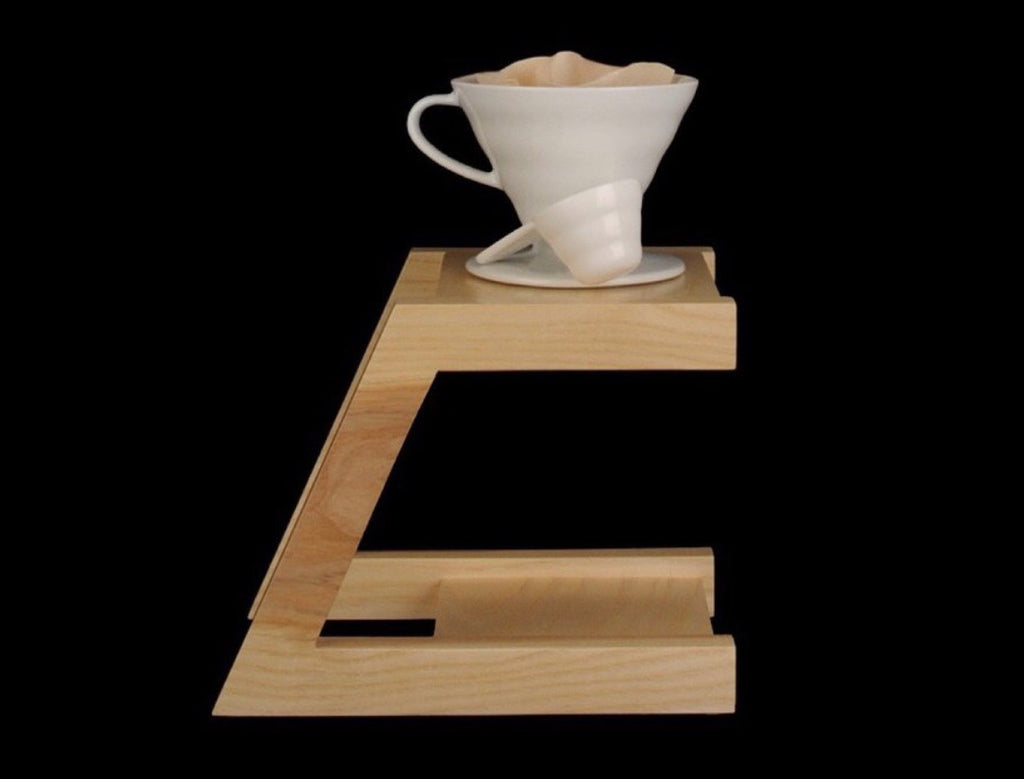 Drip Coffee Wood Stand | Golden Rule Gallery | Excelsior, MN
