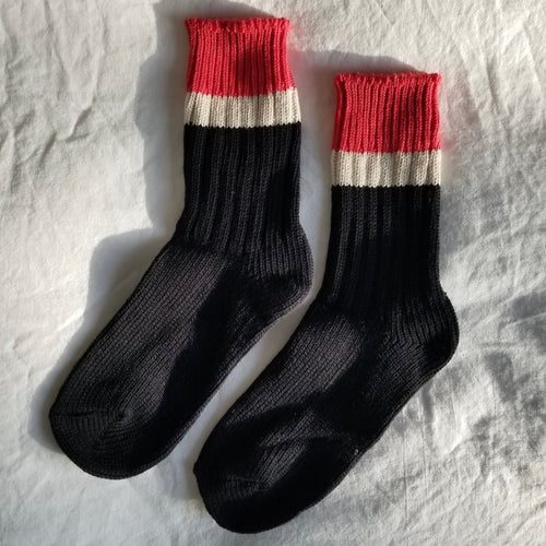 Camp Socks in Black