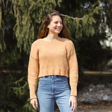 Load image into Gallery viewer, Paloma Wool Peach Sweater on Model