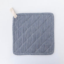 Load image into Gallery viewer, Railroad Stripe Pot Holder Set