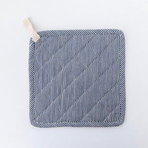 Railroad Stripe Pot Holder Set