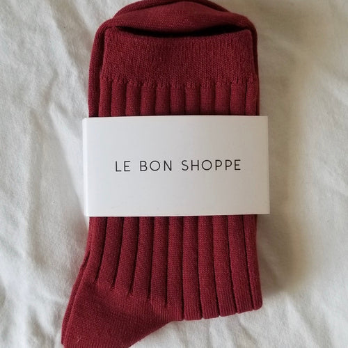 Her Socks in Bordeaux