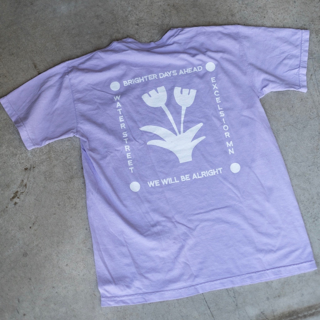 Brighter Days Ahead Shirt | Water Street Business | Golden Rule Gallery | Excelsior, MN