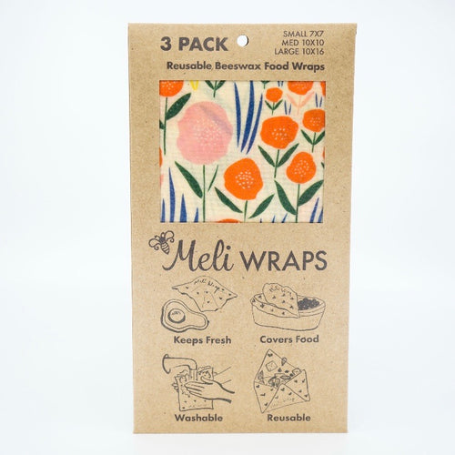Reusable Beeswax Food Wraps in Bloom