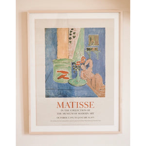 Matisse Vintage 1978 Art Exhibition Poster from MOMA