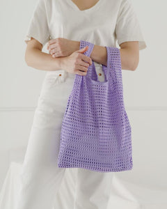 Net Tote In Lilac