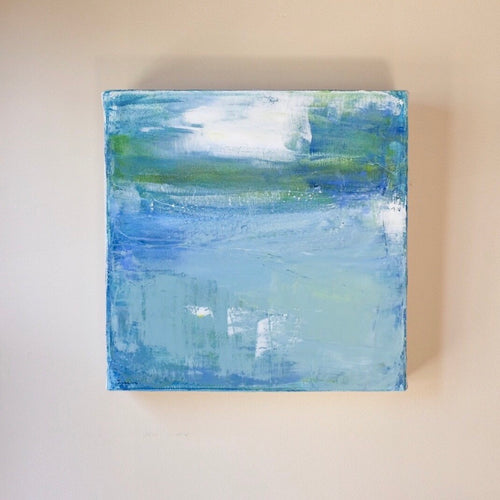 Abstract Waterscape I Original Oil Painting