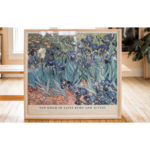 Load image into Gallery viewer, Vincent Van Gogh Vintage 1987 Met Museum Art Exhibition Poster