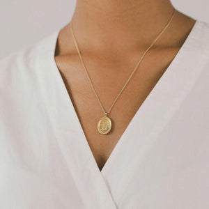 Femme Necklace in Gold
