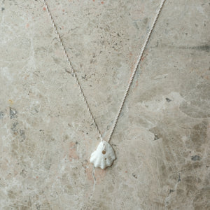 Collected Shell and Silver Necklace