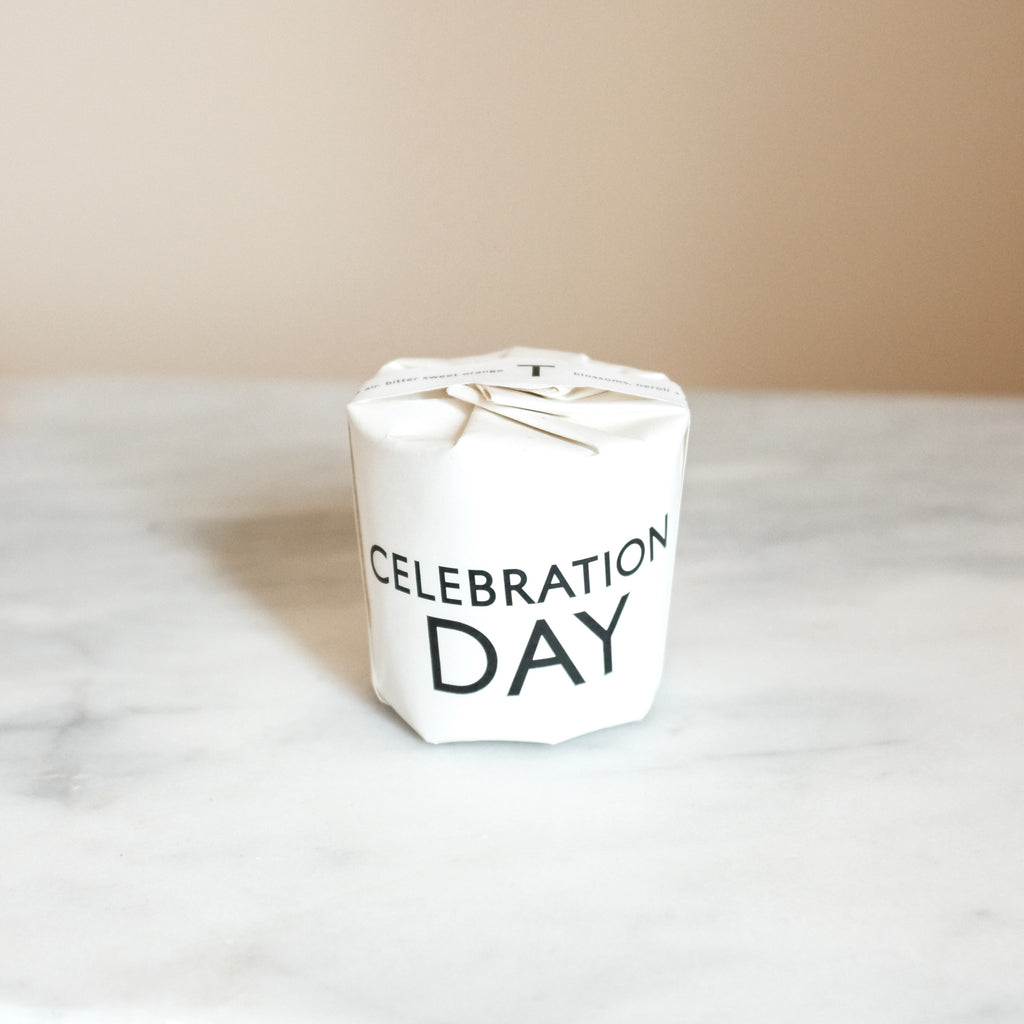 Celebration Day Small Candle | Graduation Gift | Celebration Gift | Congratulations Gift | Golden Rule Gallery | Excelsior, MN