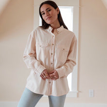 Load image into Gallery viewer, Slouch Shirt in Soft Pink