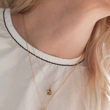 Load image into Gallery viewer, Astrological Sign Gold Layering Necklace