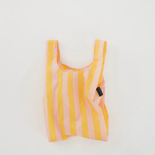 Baby Reusable Tote in Marigold Stripe