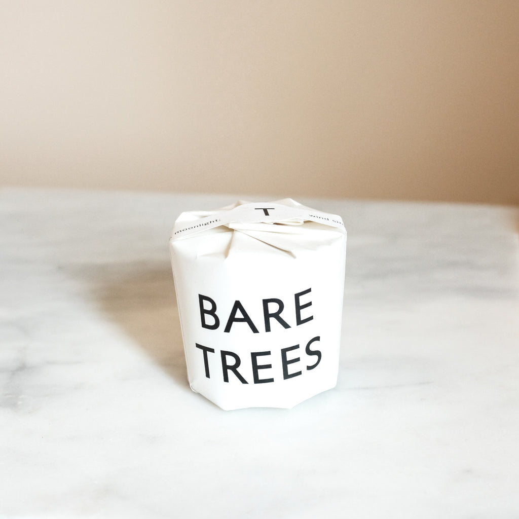 Bare Trees Candle | Tatine Small Candle | Forest Candle | Outdoorsy Candle Scent | Golden Rule Gallery | Excelsior, MN