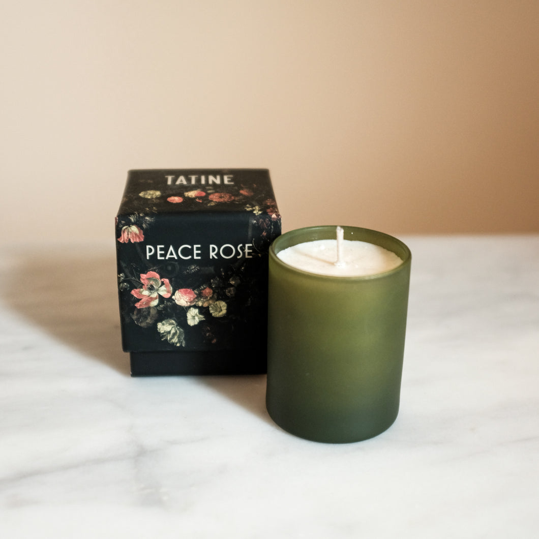 Peace Rose Candle