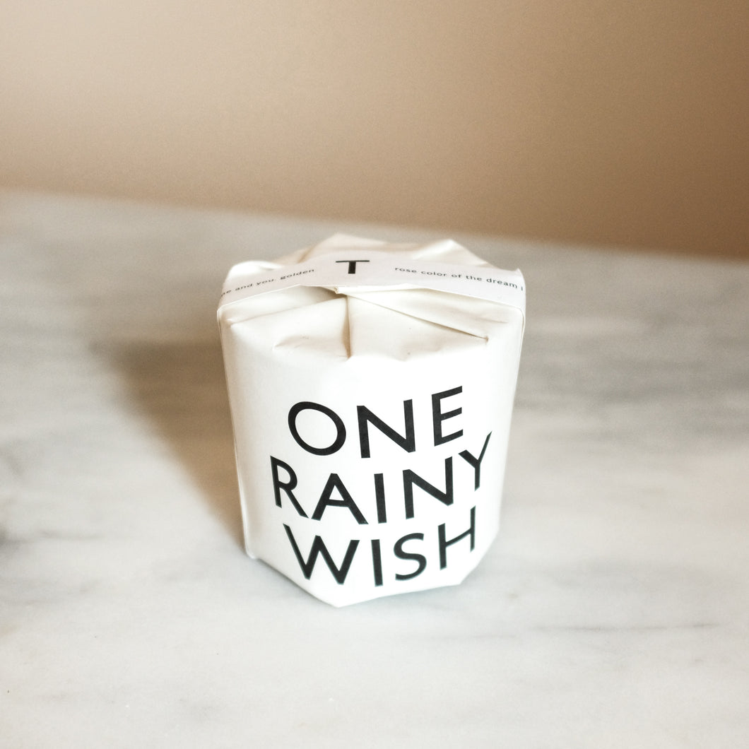 One Rainy Wish Candle
