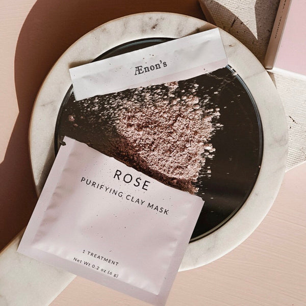 Rose Purifying Clay Mask | Rose Face Mask | Organic Products | Clean Beauty | Golden Rule Gallery | Excelsior MN