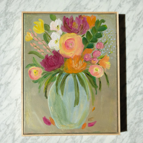 Floral Original Oil Painting