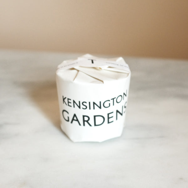 Kensington Gardens Candle | Tatine Candles | London Candle | Golden Rule Gallery | Excelsior, MN