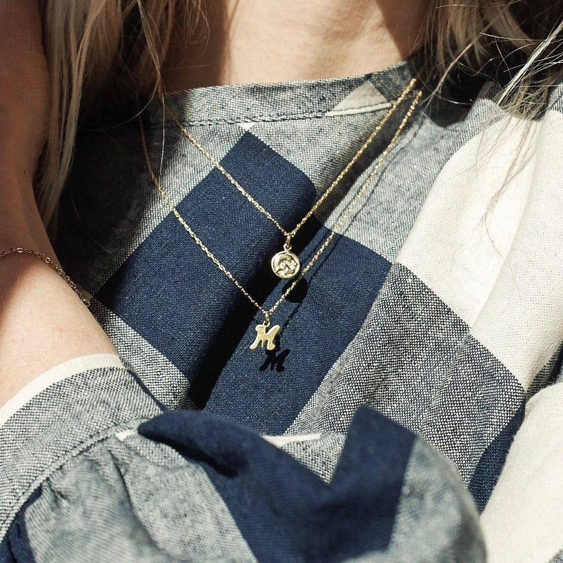 Astrological Sign Gold Layering Necklace
