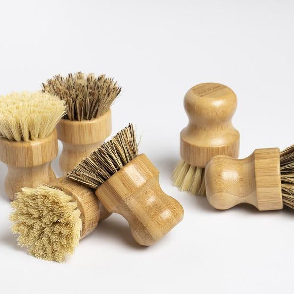 Made By Yoke | Sustainable Bamboo Brush | Veggie Brush | Sustainable Kitchen | Golden Rule Gallery | Excelsior, MN