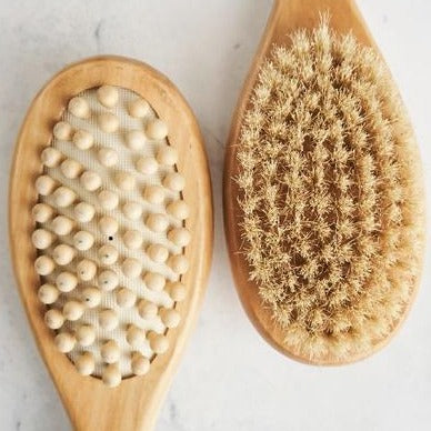 Ayurveda Dry Brushing Tool | Body Dry Brush | Organic Beauty | Ayurveda Apothecary | Made By Yoke | Golden Rule Gallery | Excelsior, MN |