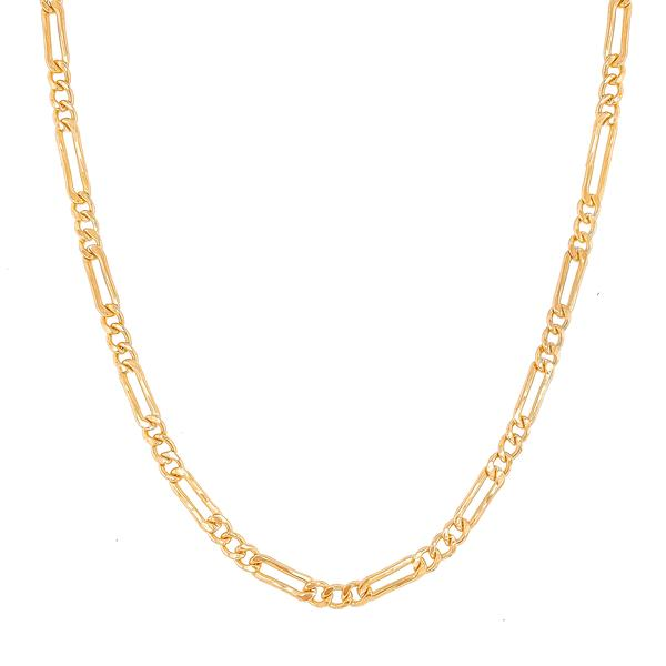 Sasha Figaro Chain Necklace | Gold Layering Necklace | Golden Rule Gallery