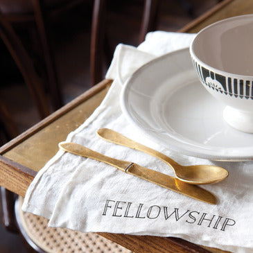 Fellowship Napkins, Set of Four
