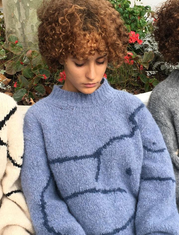 Palmira Blue Paloma Wool Sweater | Paloma Wool Minnesota | Golden Rule Gallery | Excelsior, MN
