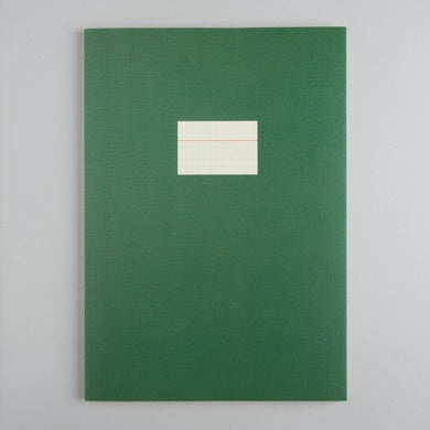 Large Notebook – Dark Green