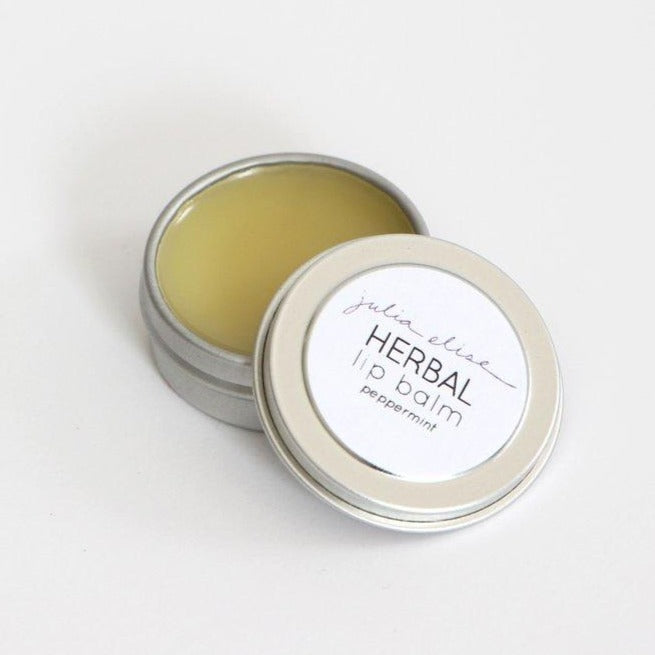 Peppermint Herbal Lip Balm