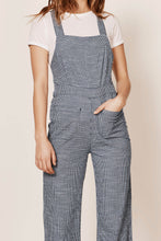 Load image into Gallery viewer, Admiral Jumpsuit in Navy Mini Check