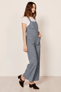 Admiral Jumpsuit in Navy Mini Check